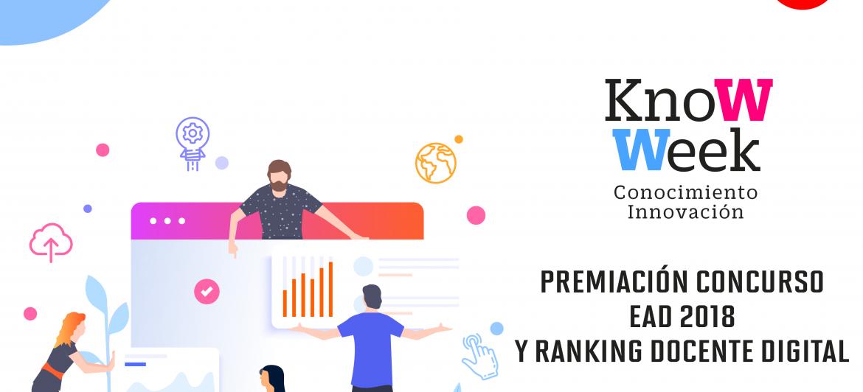 Ceremonia de Premiación Concurso EAD 2018 y Ranking Docente Digital