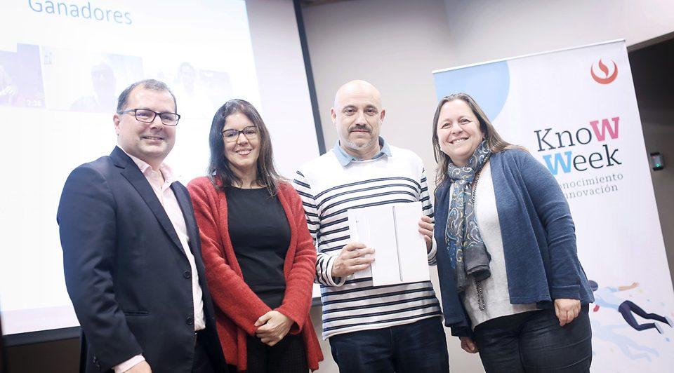 Se premia a los ganadores del Concurso de Experiencias de Aprendizaje Digital 2018