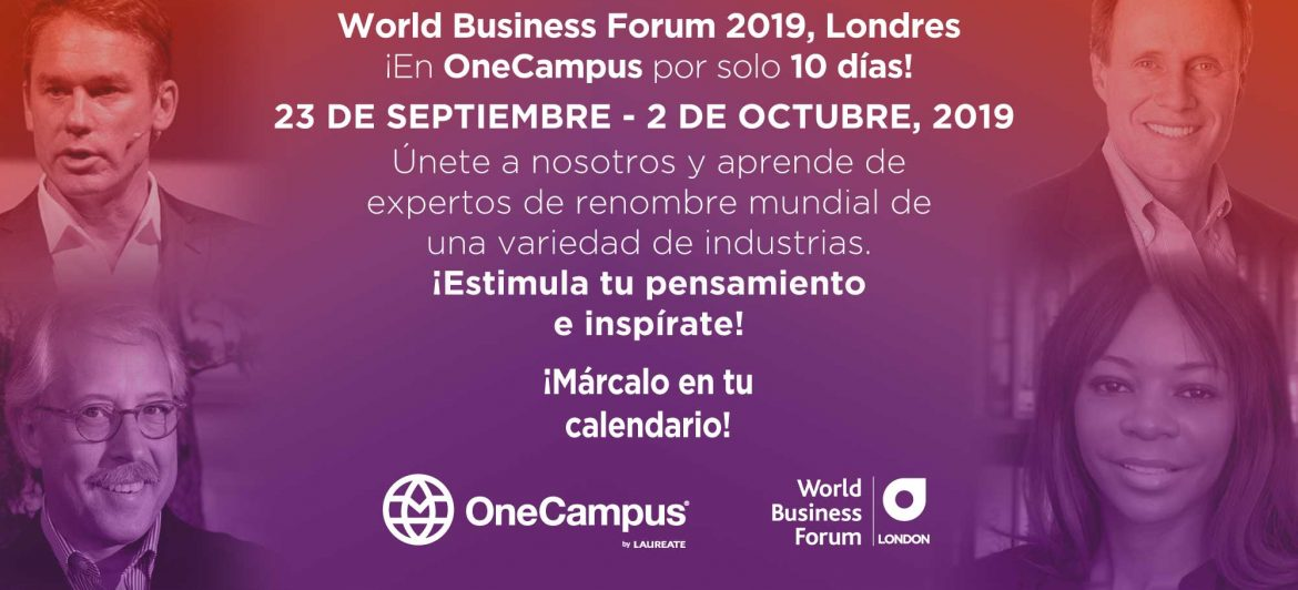 El World Business Forum – London en OneCampus