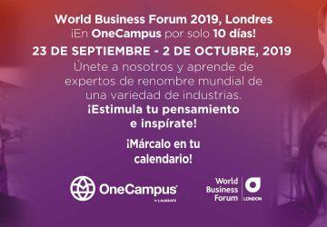 El World Business Forum – London en OneCampus