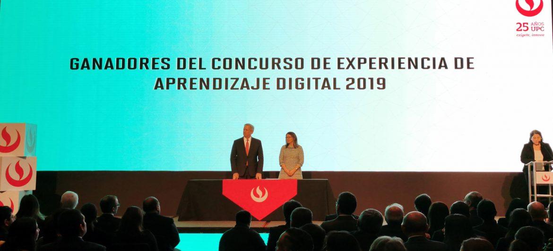 Ganadores del Concurso Experiencias de Aprendizaje Digital 2019