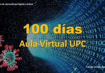 100 días Aula Virtual UPC