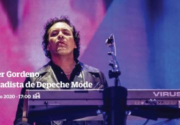 Conversatorio con Peter Gordeno, tecladista de Depeche Mode