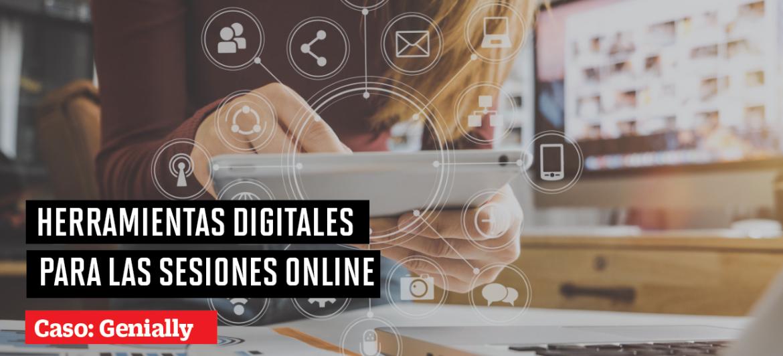 Uso de herramientas digitales para las sesiones online: Genially