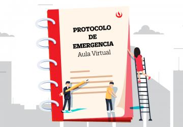 Protocolo de emergencia para el Aula Virtual