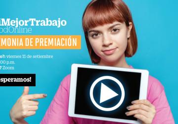 #ModOnline: Ceremonia de premiación #MiMejorTrabajo