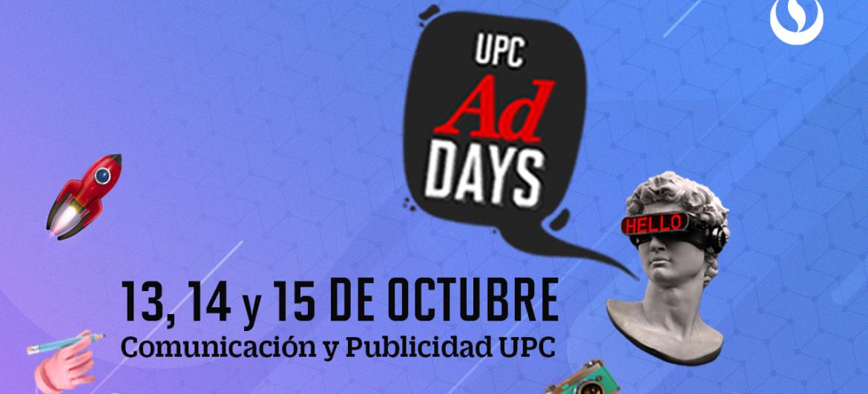 UPC Ad Days- Conecta. Crea. Inspira #AdDays2020