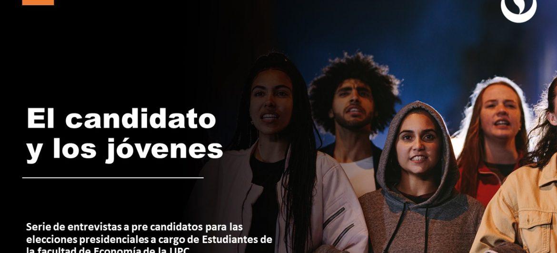 El candidato y los jóvenes