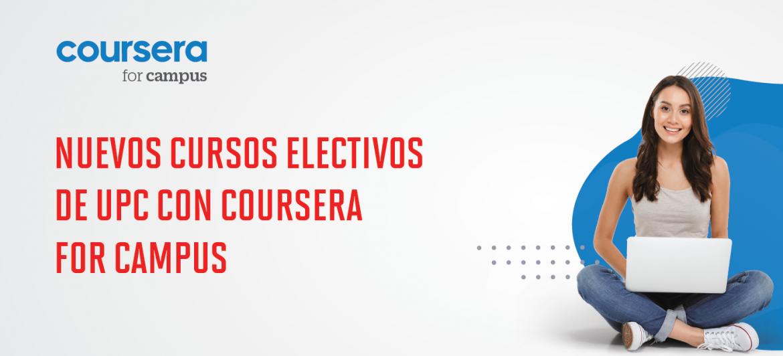 Nuevos cursos electivos de UPC con Coursera for Campus