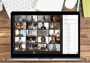 Nuevo: Vista de galería disponible en Collaborate Ultra