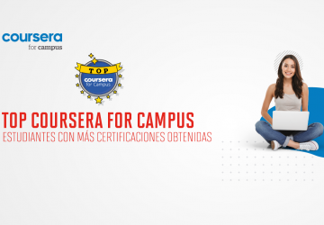 TOP16: Estudiantes UPC con más certificaciones obtenidas de Coursera for Campus