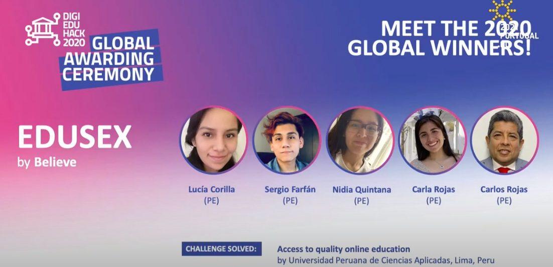 Acceso a la educación: Estudiantes de UPC premiados por proyecto EduSex