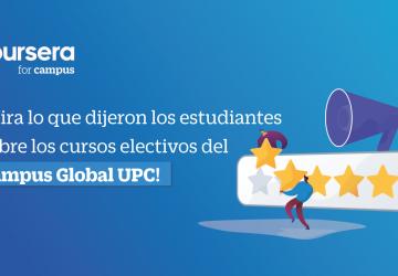 Conoce qué dijeron los estudiantes sobre los cursos electivos del Campus Global UPC