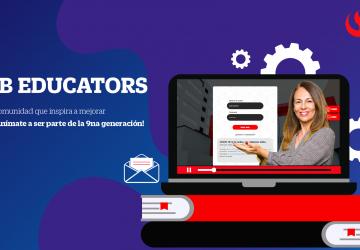 Bb Educators, 9na Generación, ¡Puedes inscribirte!
